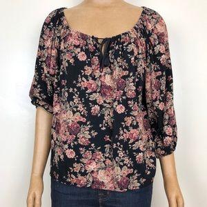 Ralph Lauren Denim & Supply Floral RL Boho Top